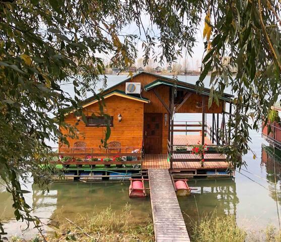 Sagando  -  Sunset Floating River House
