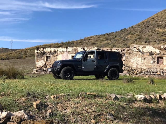 4x4 Jeep shuttle from Lucainena available, as are Jeep tours & excursions
