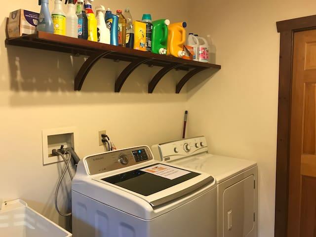 Laundry Room  $5 per load