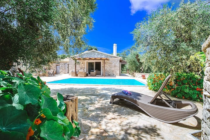 Aristea - 2 BR Villa surrounded by olive groves