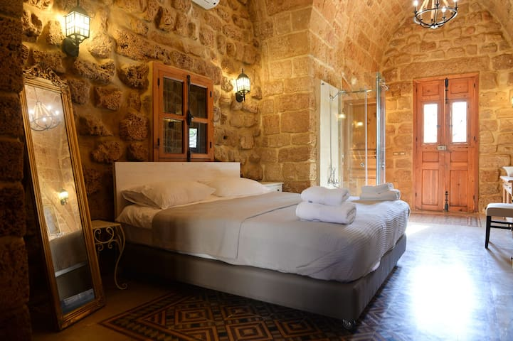 Sandstone Room in old Batroun 1317-A