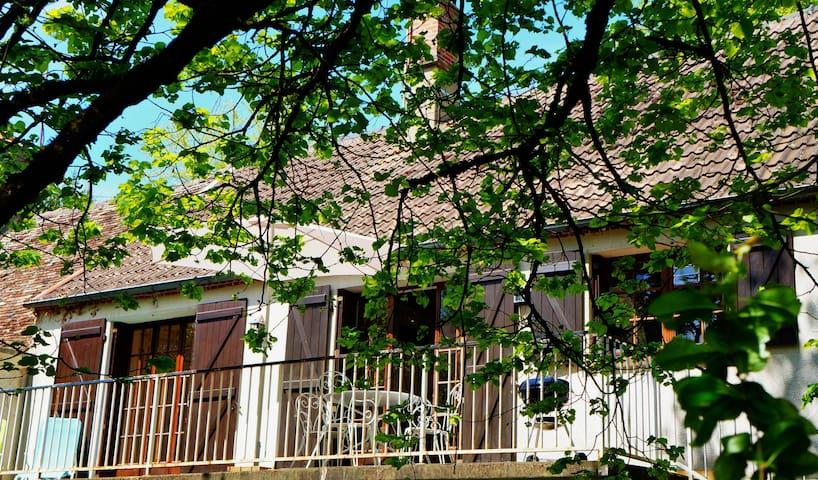 Maison au coeur d'un parc boisé - Saint-Amand-en-Puisaye