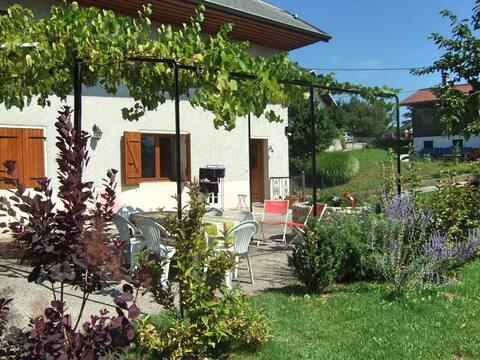 Maison classée 3 étoiles avec belle terrasse