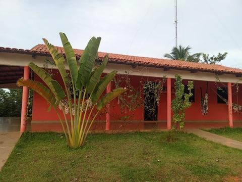 Casa no centro de Mateiros com wifi