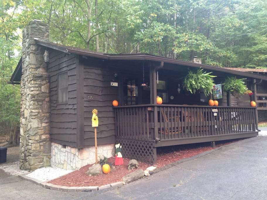 Amazing Cabin In The Woods In The Smokey Mountains