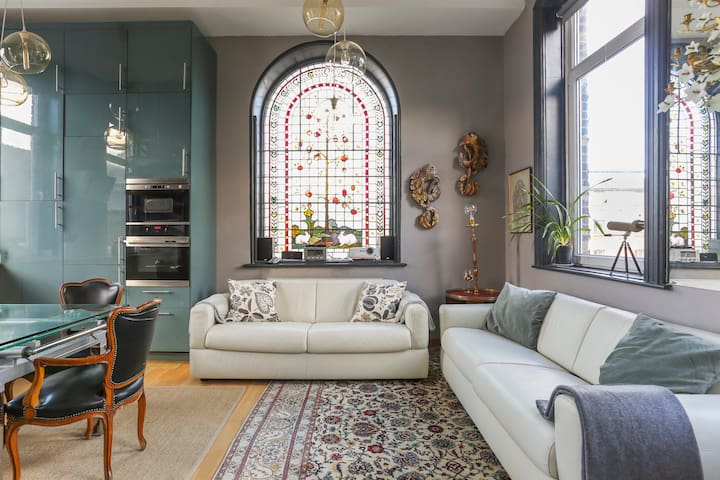Stay in a former Victorian Chapel in the East End