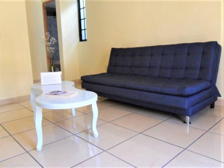 minimalismo y confort cerca del centro