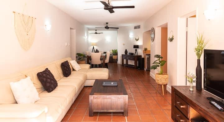 Sun Loft BoHo Retreat | 3 Bedroom Apartment