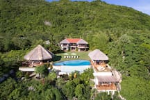 A well-appointed 5-bedroom luxury private villa with a dedicated staff to meet your needs and whims.