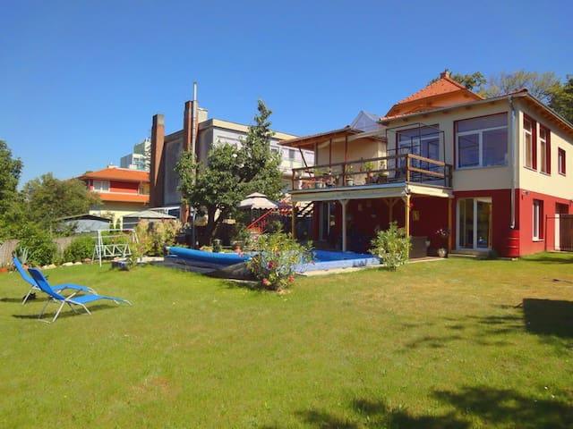 Appartement 1 in der Villa Sonnenschein Hévíz - Hévíz - House