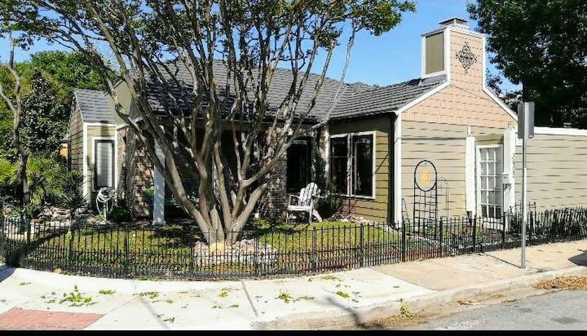 Best Little House in Texas.  Downtown & Deep Ellum