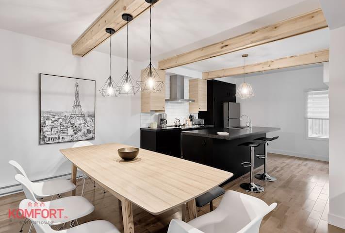 K-27, St-Grégoire | Cozy modern House