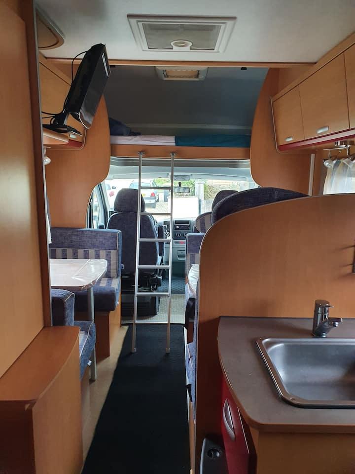 Logement insolite camping car