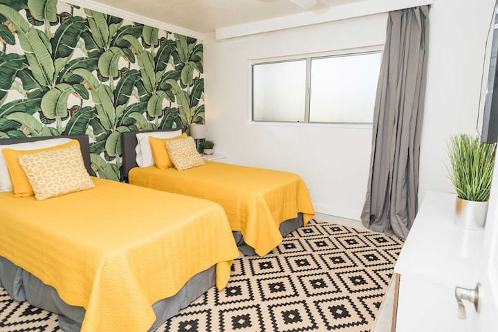 The condo contains 2 well-appointed bedrooms.