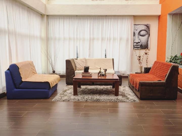 Habitación en casa campestre