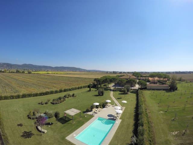 Zimmer mit Frühstück | Toskana | Pool und Sauna