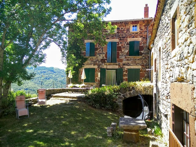 Dormir serein au domaine Les Fonds (Pt dej inclus) - Saint-Privat-d'Allier - Bed & Breakfast