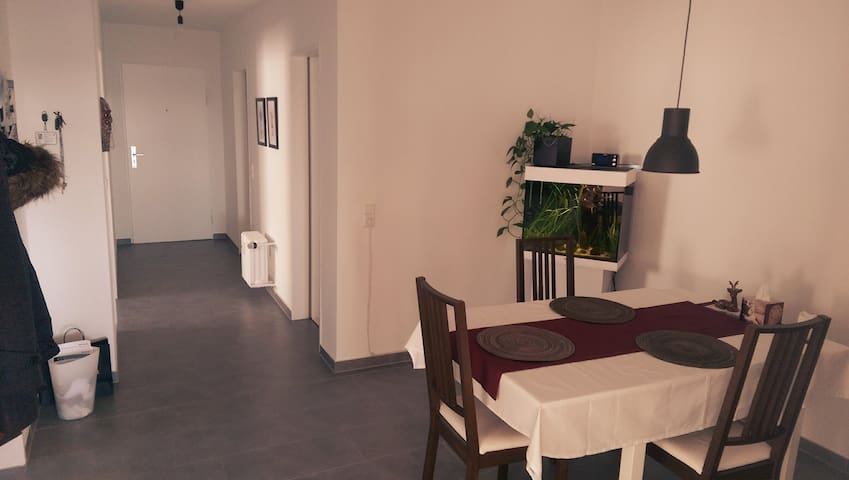 Guest room with beautiful view near Daimler - Sindelfingen - Apartament