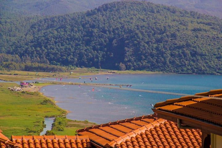Menekşe Lovely Duplex Flat with great Akyaka view! - Akyaka Belediyesi - Villa