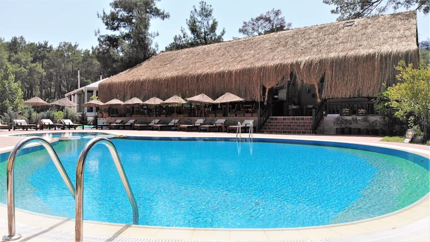 Olympos Village Hotel ***** The best in town !