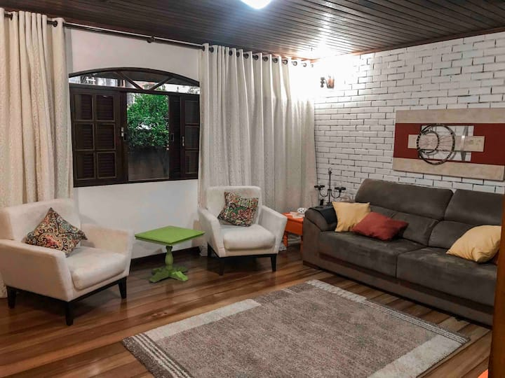 Casa da Serra Teresópolis, aconchegante e c/ Wi-Fi