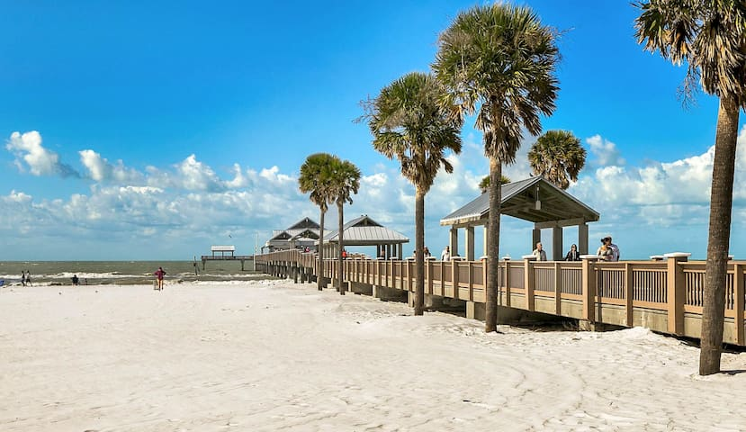 Enjoy easy access to the beach from your rental.