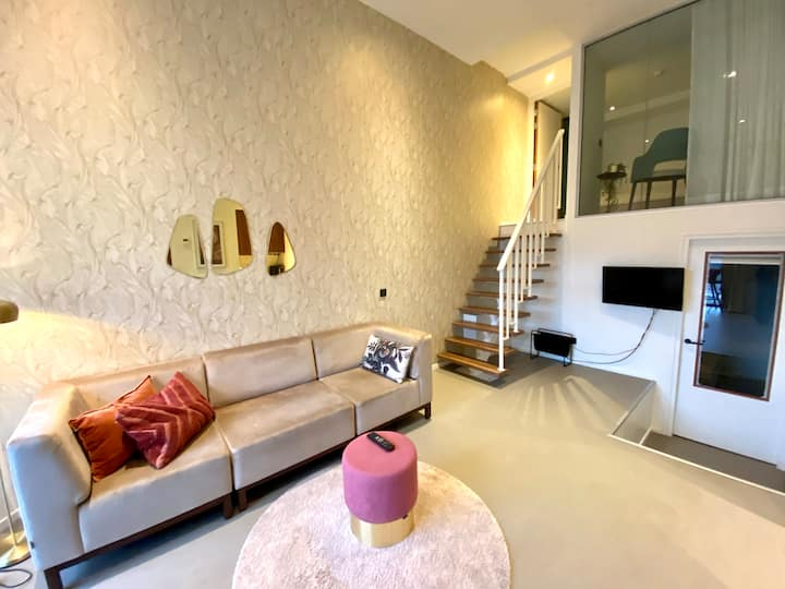 Comfortable Triple Loft apartment in Utrecht