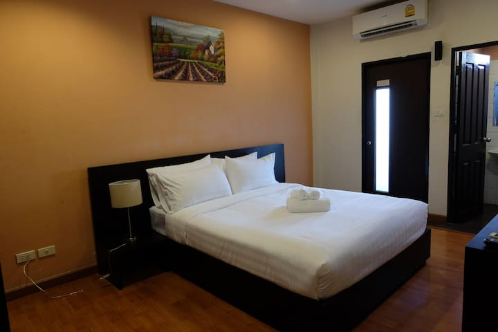 Double Bed room - Bangkok - Departamento