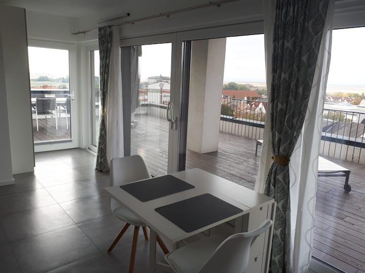 Kleines Appartement mit tollem Ausblick
