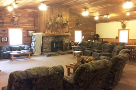 Remote Lodge / Hunting Cabin in Coshocton County! - Walhonding - 公寓