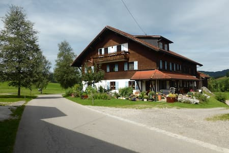 Sonnige Wohnung im Allgäu - Weitnau - Wohnung