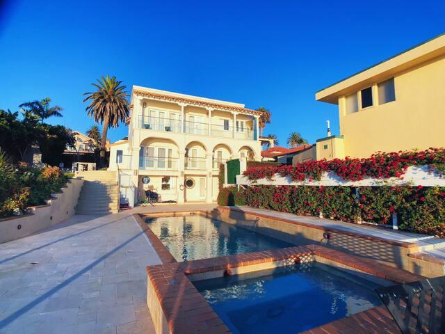Luxury Waterfront Estate w/ Private Beach Access