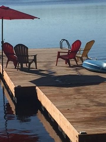 Swim off the dock