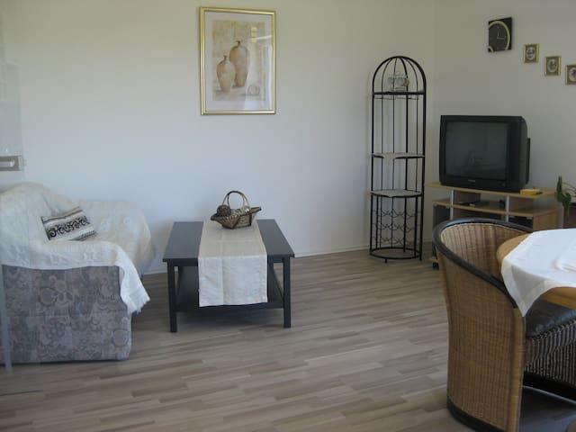 Sonnige Wohnung mit toller Aussicht - Lappersdorf - Apartament