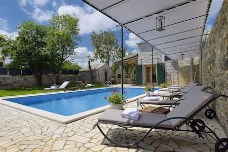 Luxurios Villa with private pool - Bazgalji, Pazin - 独立屋