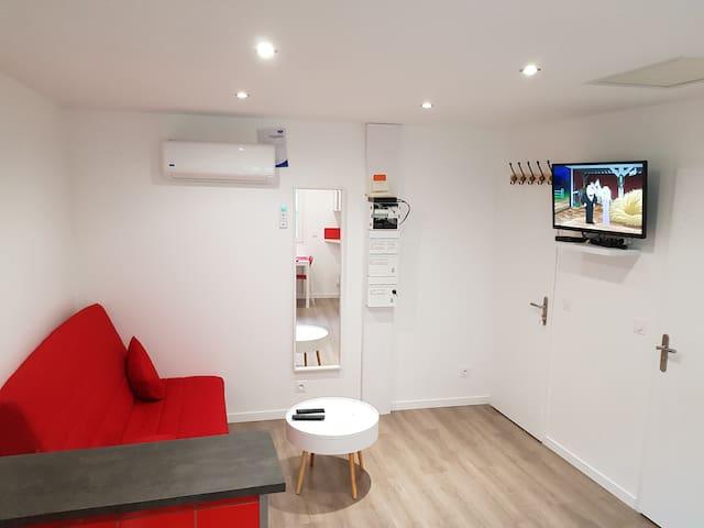 Maison meublée 30 m²