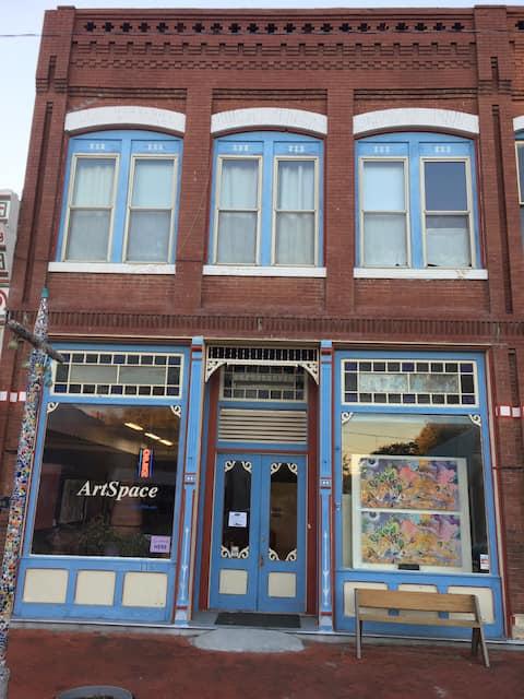 Marquette's ArtSpace Airbnb.