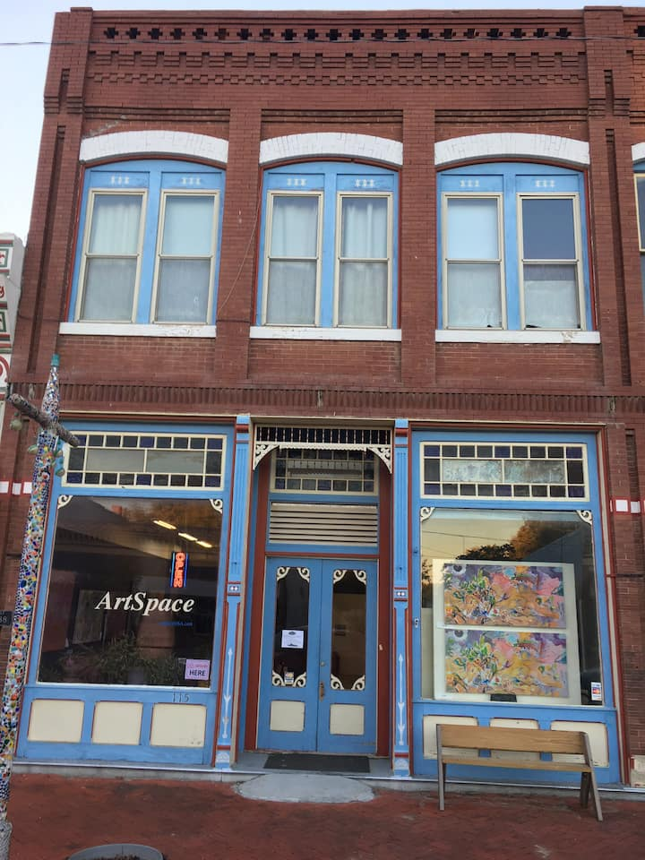 Marquette's ArtSpace Airbnb.