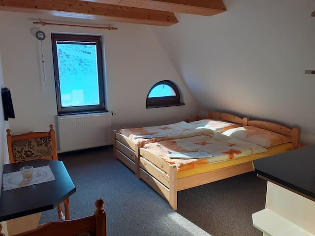 dvoulůžkový apartmán v atraktivní lokalitě