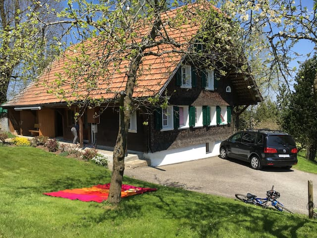 Schmuckes, kleines Bauernhaus mit tollem Umschwung - Romoos