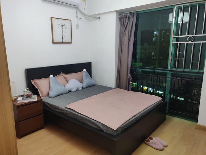 整租一室一厅,装修温馨,家电齐全,短租一月起租