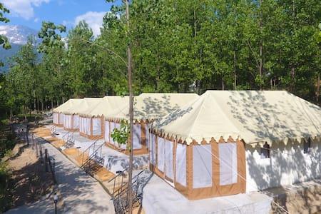 Dev Bhoomi FarmStay | Luxury Swiss Cottage