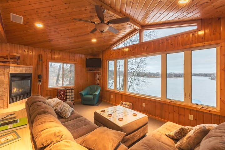 Upper Gull Lake Getaway :) - Nisswa - Cabane