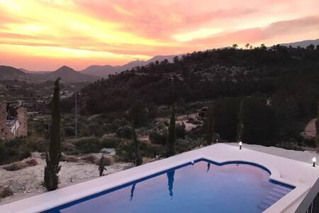 Murcia region, Costa Blanca, 5 bed Farm House - Campos del Río - Haus