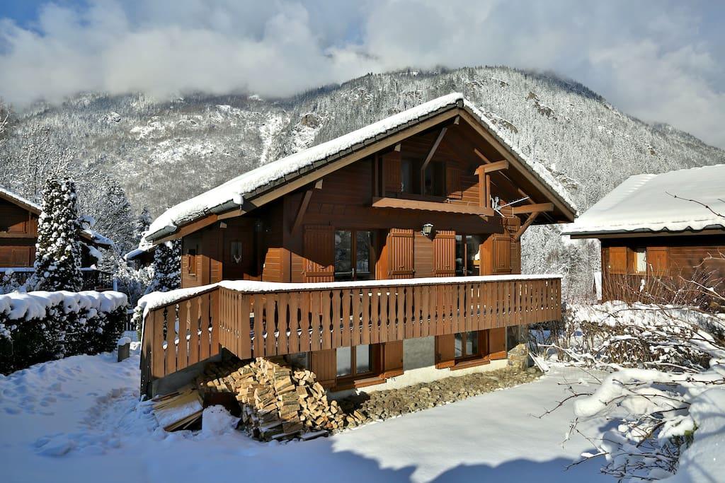 chalet ads cosy mountain retreat chalets zur miete in les houches auvergne rh 244 ne alpes