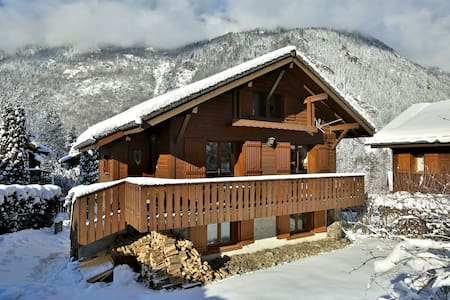 Chalet Ads - 3 dbl bedrooms - Les Houches
