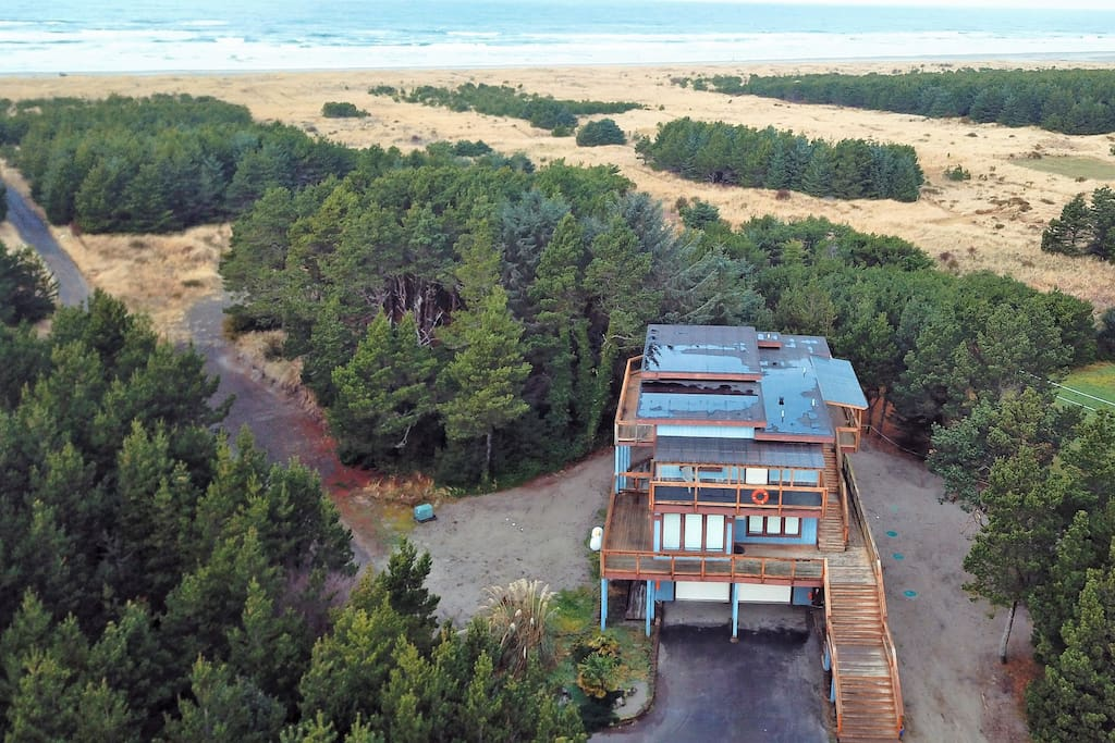 The Admiral House is just a short walk to the beach. Listen to the ocean waves from either of the two wrap around decks.