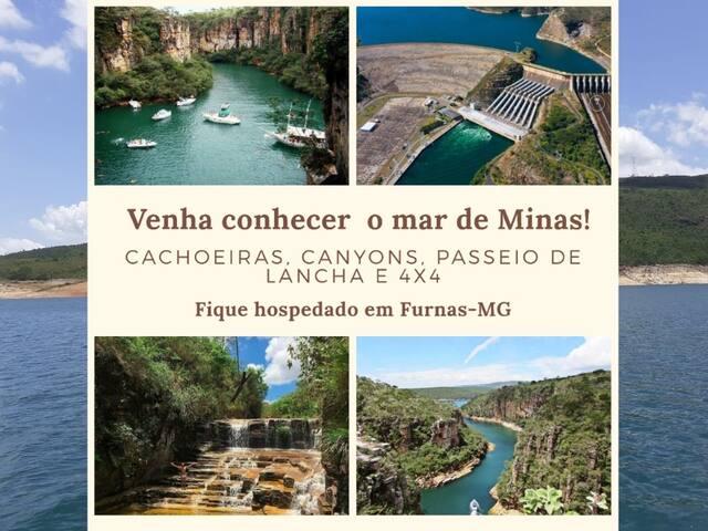 Casa Lago de Furnas - Capitólio-MG