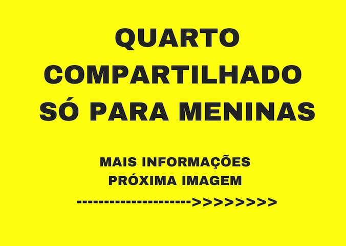 QUARTO COMPARTILHADO P/ MENINAS - ARARAS, SP
