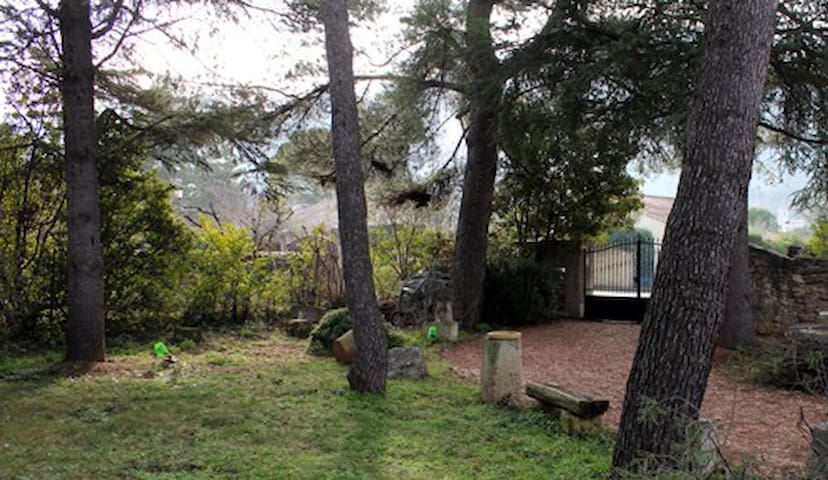 Charmante maison divisée au coeur du Luberon - Maubec - Casa